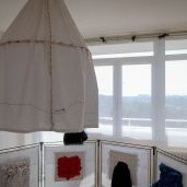 Installation textile de Christelle Hunot - Appartement 2033